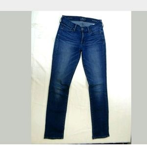 Lucky Brand Size 26 Ankle Jeans Brooke Straight